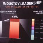 Mark Papermaster AMD Zen 3 IPC Improvement Detail