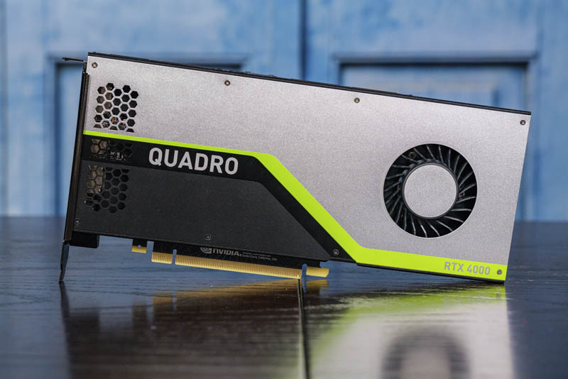 NVIDIA Quadro RTX 4000 Front