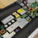 Netgear GS710TUP PSU Cover Pulled Back