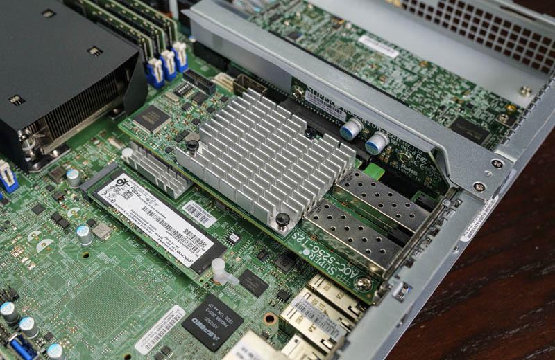 Supermicro SYS 1019P WTR PCIe X8 Riser