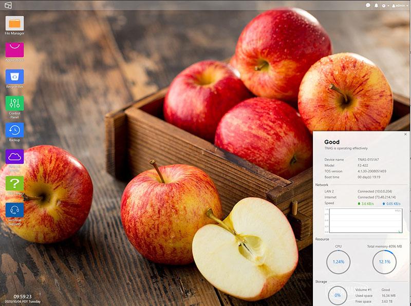 TerraMaster F2 422 Desktop