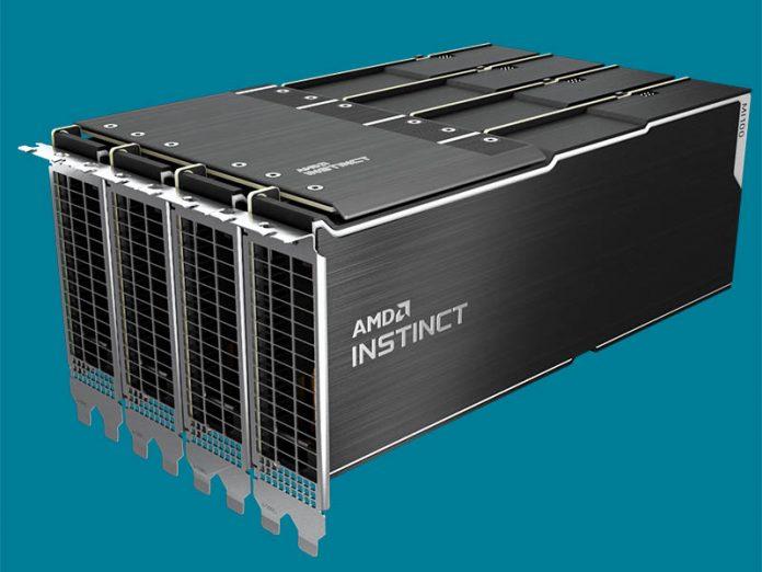 AMD Radeon Instinct MI100 Hive With 4x GPUs