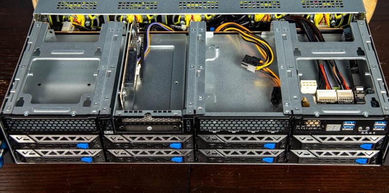 ASUS ESC4000A E10 Front Customization