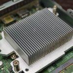 Dell OptiPlex 3050 CPU Heatsink With Dust Accumulation