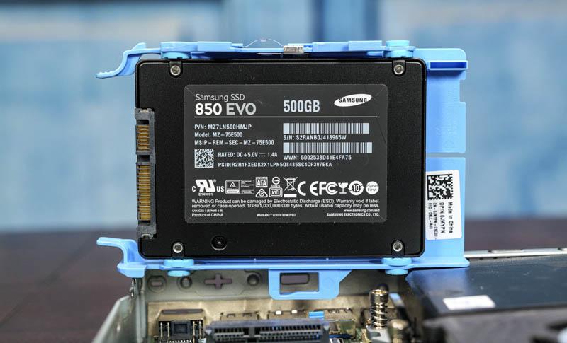 Dell OptiPlex 3050 Samsung 850 EVO 500GB Added