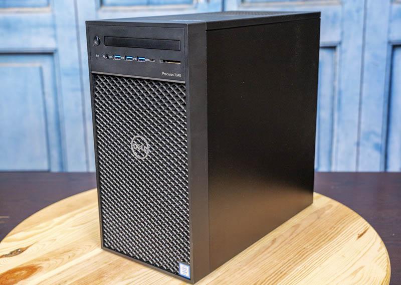 Dell Precision 3640 Workstation Front Three Quarter