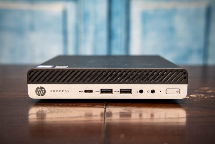 HP ProDesk 600 G4 Mini Front
