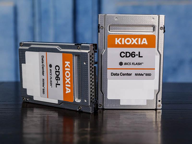 Kioxia CD6 L 1.92TB And 7.68TB SSDs