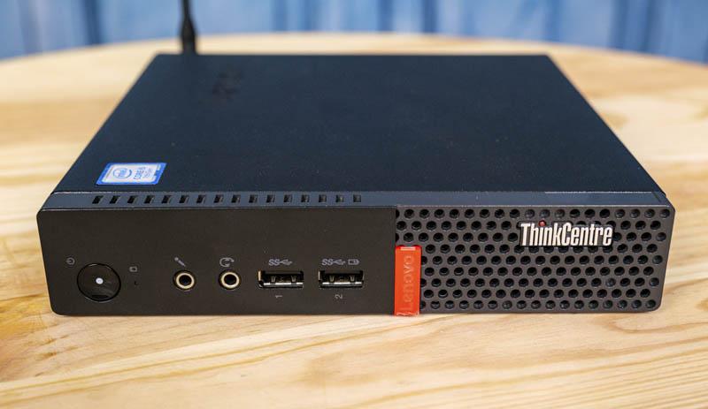 Lenovo ThinkCentre M710q Tiny Front