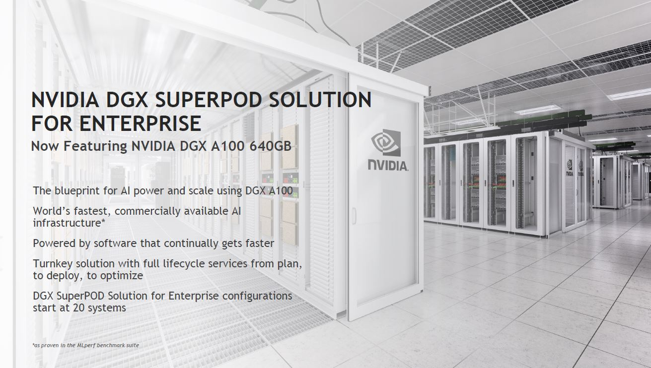 NVIDIA DGX A100 640GB Edition SuperPOD