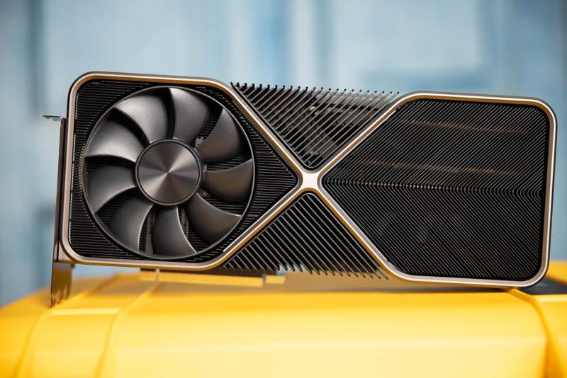 NVIDIA GeForce RTX 3090 Heatsink Side Light 3