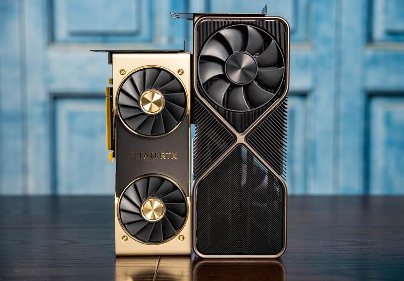 NVIDIA GeForce RTX 3090 And Titan RTX 3