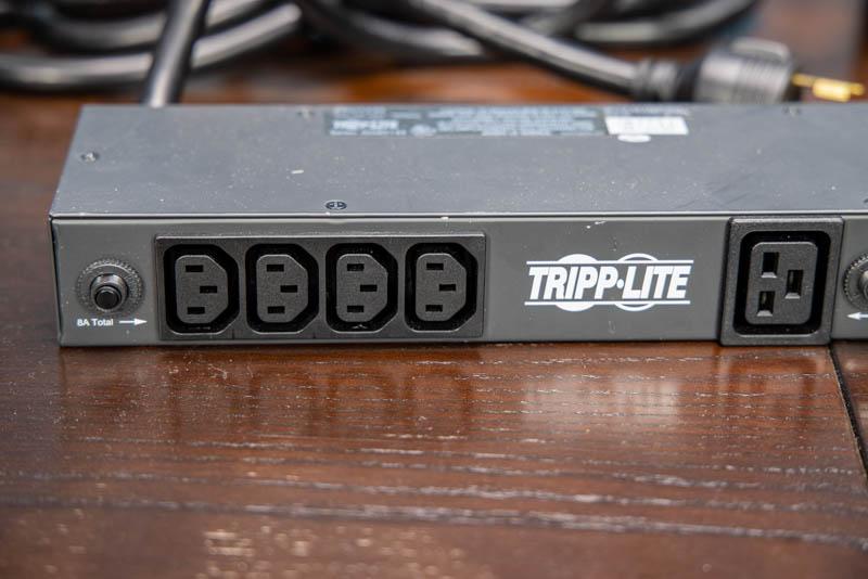 Tripp Lite PDU1230 4x Front C13