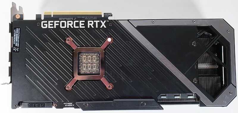 ASUS ROG STRIX RTX 3090 OC Back