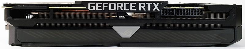 ASUS ROG STRIX RTX 3090 OC Top Edge