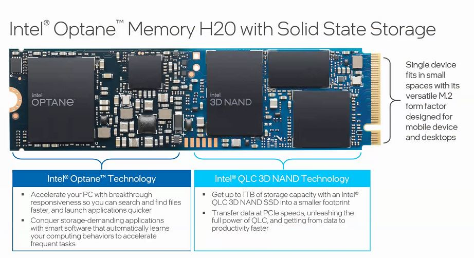 Intel Optane H20 Overview Example