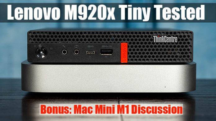 Lenovo M920x Tiny Cover Project TinyMiniMicro