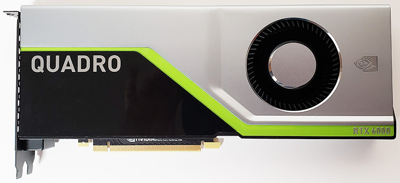 NVIDIA Quadro RTX 6000 Front