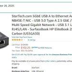 Startech 5GbE Adapter Amazon