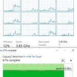 Startech 5GbE Adapter Data Transfer