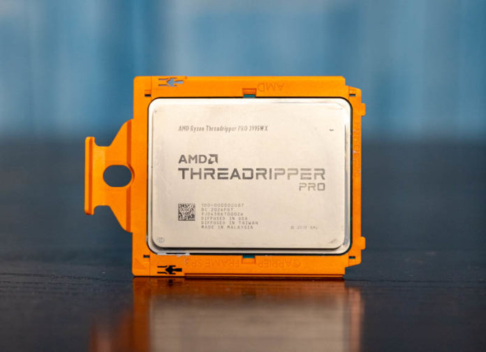 AMD Ryzen Threadripper PRO 3995WX Cover