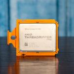 AMD Ryzen Threadripper PRO 3995WX Front