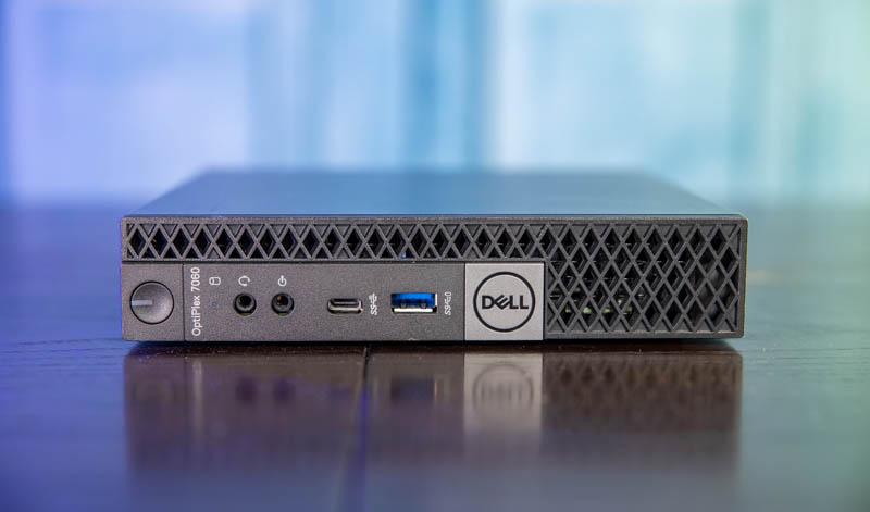 Dell OptiPlex 7060 Micro Front