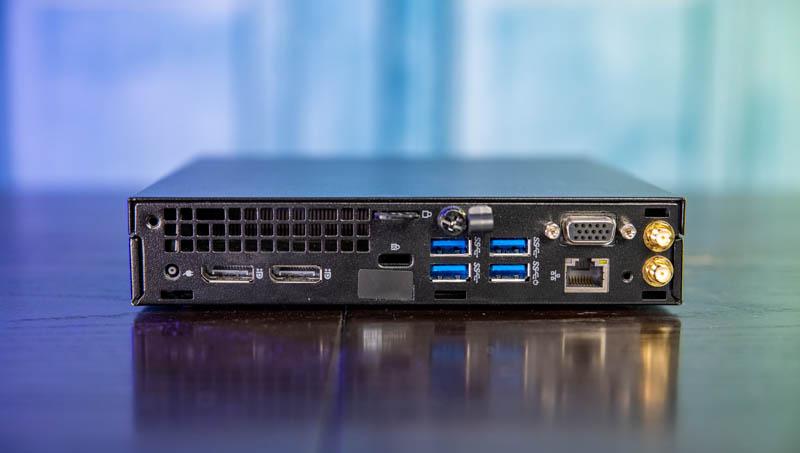 Dell OptiPlex 7060 Micro Rear