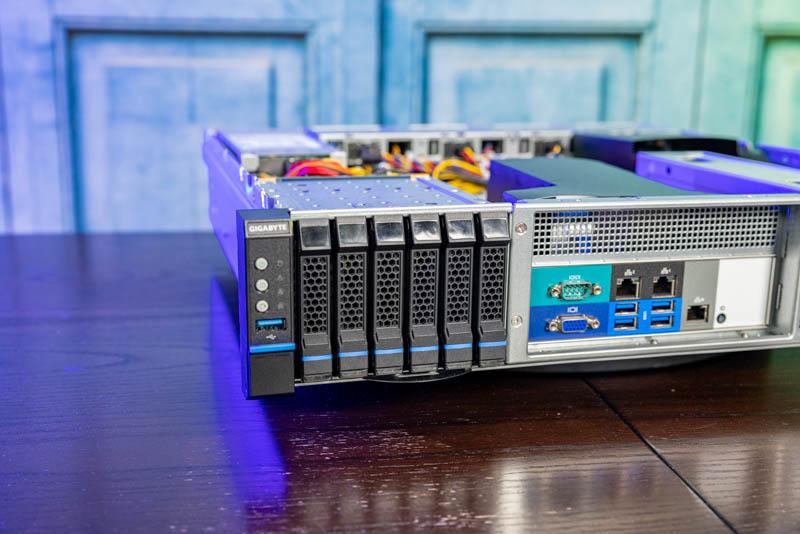 Gigabyte E251 U70 6x SATA Bays