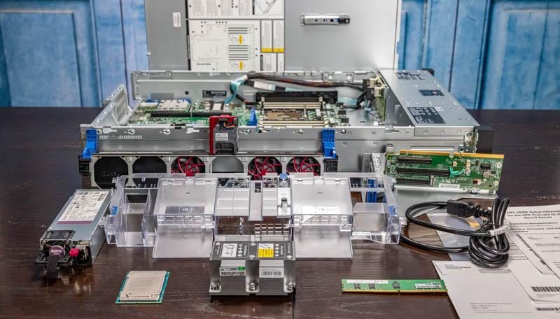 HPE ProLiant DL380T Gen10 Components