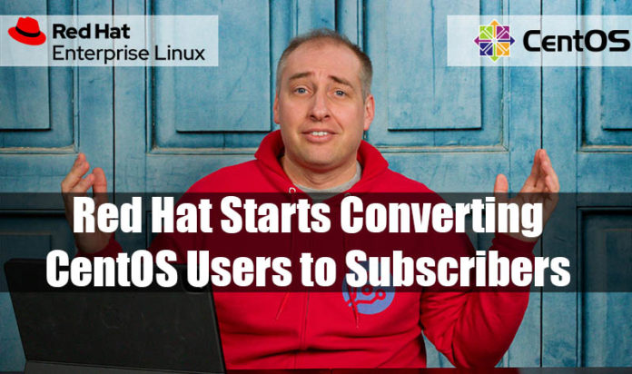 IBM Red Hat Starts Converting CentOS Users To Subscribers Cover