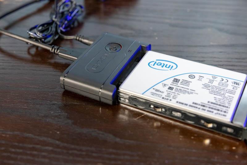 Icy Dock EZ Adapter Ex MB931U 1VB Intel SSD With SM Caddy