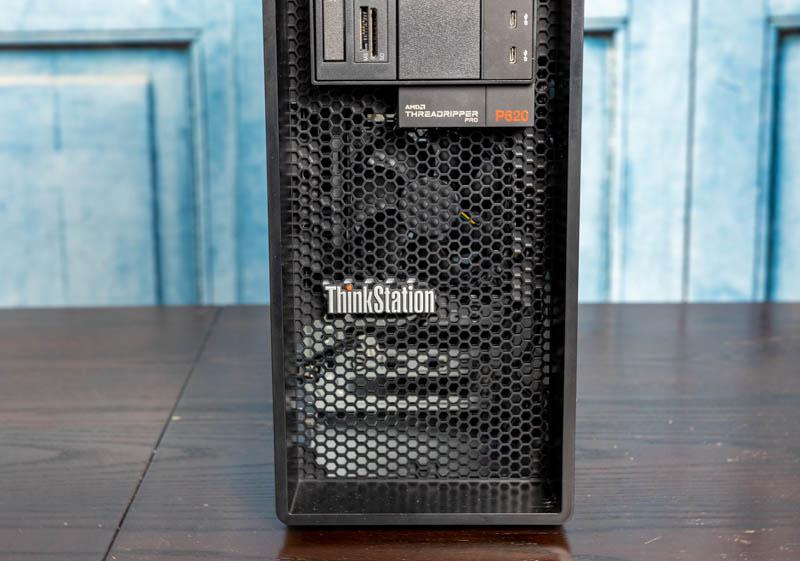 Lenovo ThinkStation P620 Front Airflow