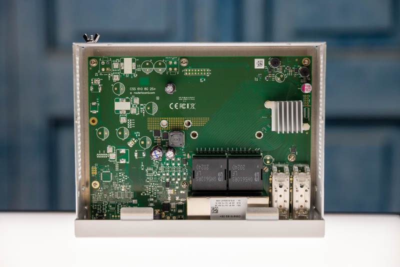 MikroTik CSS610 8G 2+IN Internal Overview