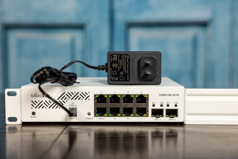 MikroTik CSS610 8G 2+IN Power Adapter