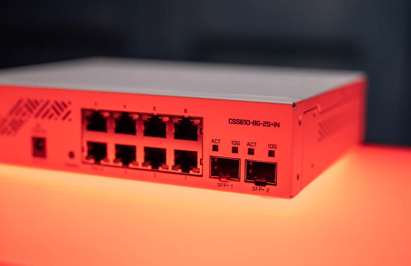 MikroTik CSS610 8G 2+IN Red Model Number