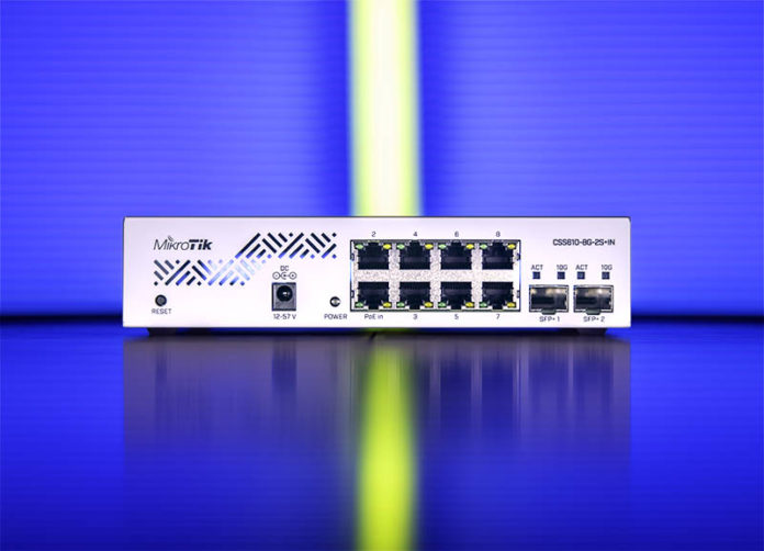 MikroTik CSS610 8G 2S+IN Cover