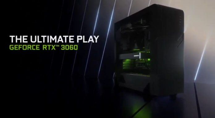 NVIDIA GeForce RTX 3060 CES Cover