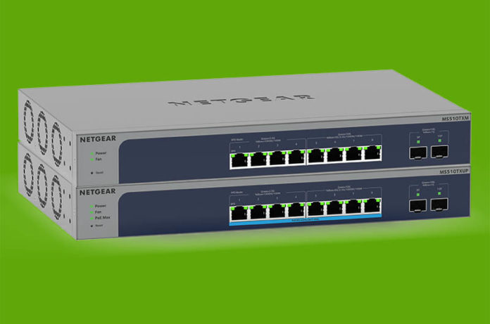 Netgear MS510TXM And MS510TXUP Cover