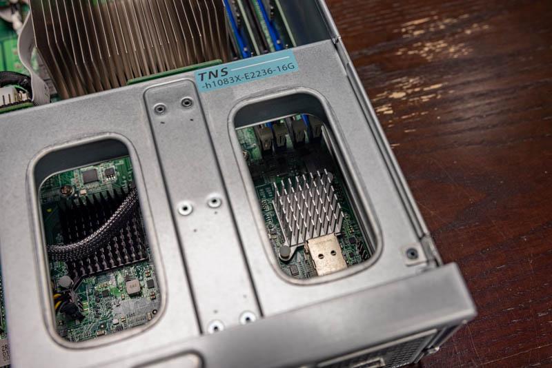 QNAP GM 1002 TNS H1083X E2236 16G NVIDIA Mellanox ConnectX 4 Lx