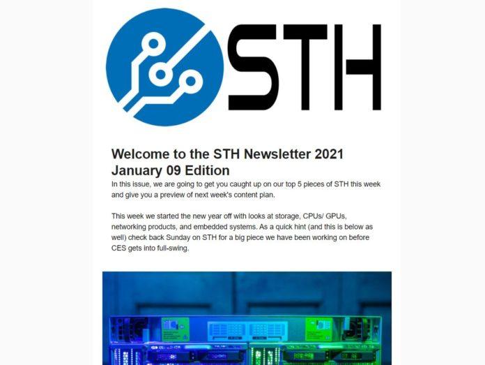 STH Newsletter 2021 01 09