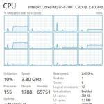 Sabrent 5GbE USB NT SS5G Iperf 3 CPU Utilization