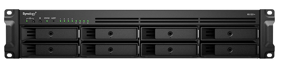 Synology RS1221 Plus And RS1221RP Plus Cover