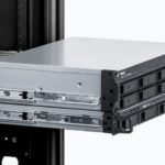Synology RS1221 Plus With Optional Rail Kit And Expansion Unit