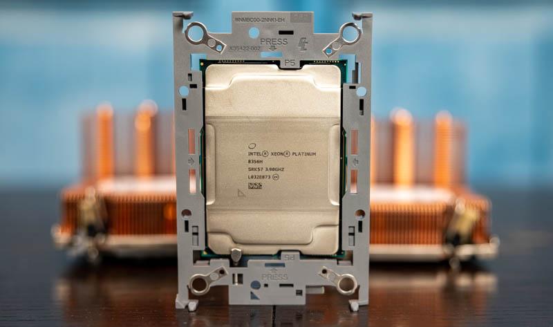 3rd Gen Intel Xeon Scalable Installed in Clip or Retention Bracket