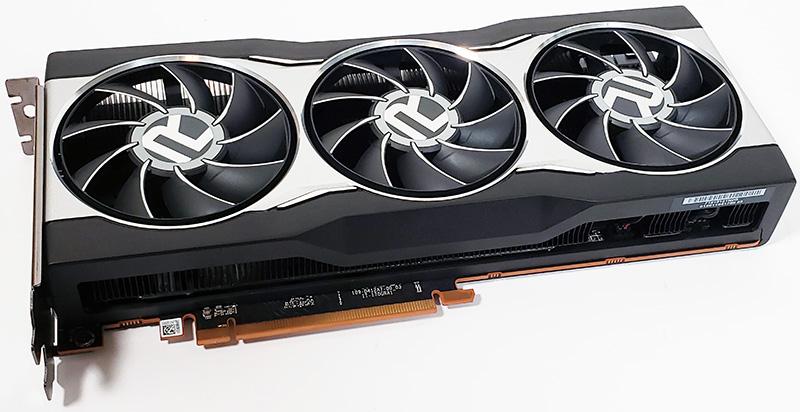 AMD Radeon RX 6800 Angle View