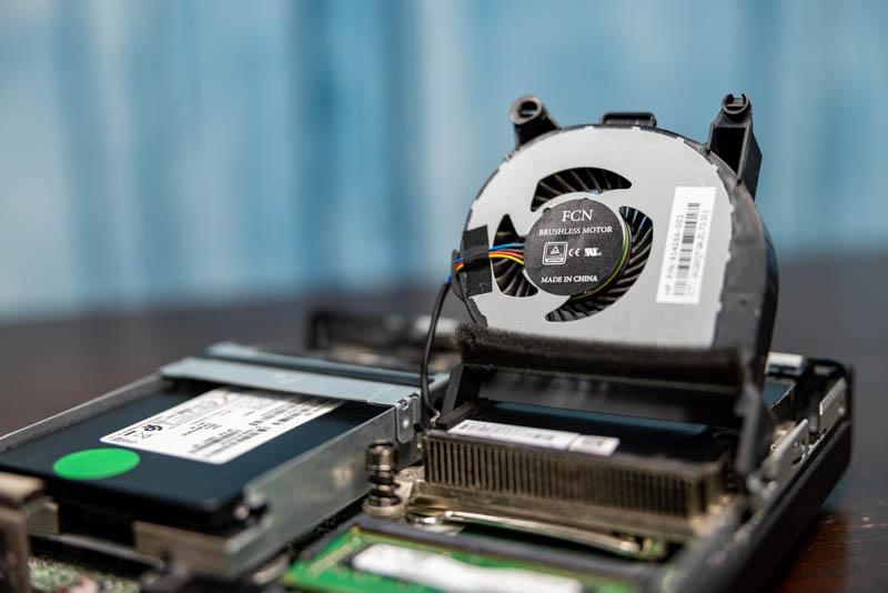 HP EliteDesk 800 G3 Mini Fan