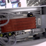 HPE Spaceborne Computer Rear At HPE Discover 2019