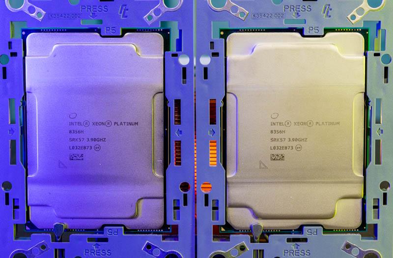Intel Xeon Platinum 8356H Close