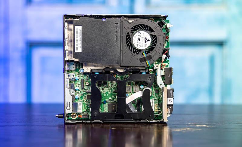 Lenovo M75q 1 Tiny Internal Top Overview